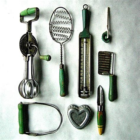 Vintage Kitchen Utensils by Utensils Kitchen Afreakatheart