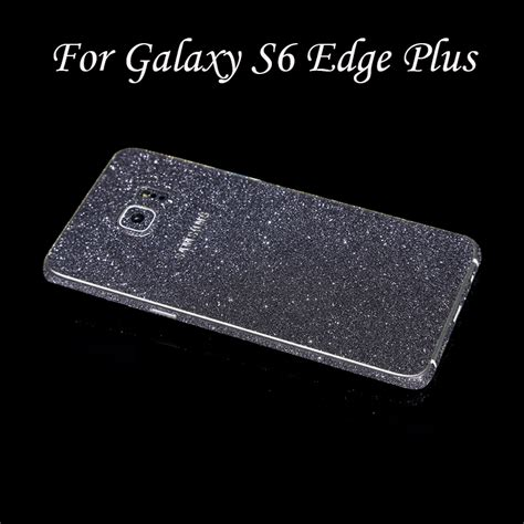 Samsung Galaxy S6 Edge Plus Glitter Skin Stiker Gards Diskon cat with two ears open ring cat claw inside and frosted ears slightly adjustable
