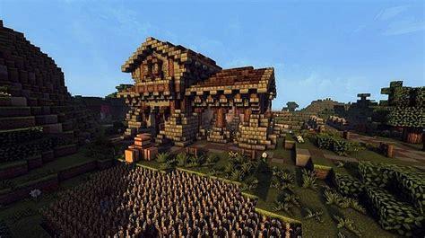 Simple Silo Builder medieval farm minecraft building inc