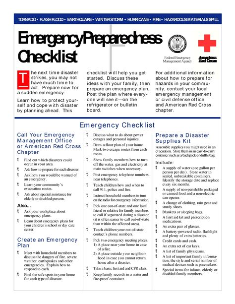emergency response checklist template emergency preparedness of earthquake in bc canada david