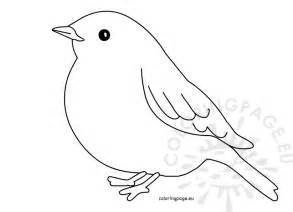 bird templates bird silhouette simple coloring pages