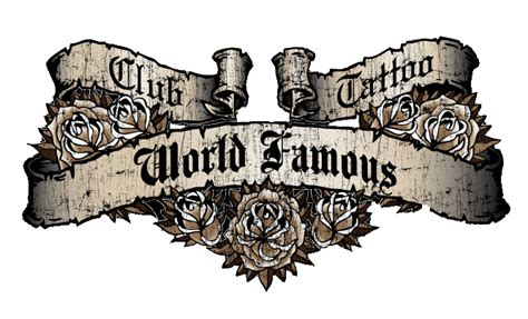 world famous men s t shirt from club tattoo glendale