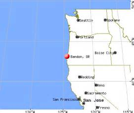 bandon oregon or 97411 profile population maps real
