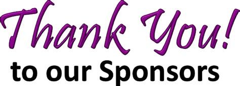 Thank You To Our Advertisers by Our Sponsors Predestined For Greatness