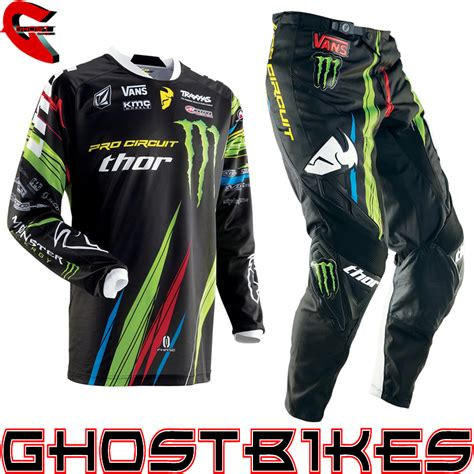 monster jersey motocross thor 2013 phase sp13 pro circuit monster energy mx