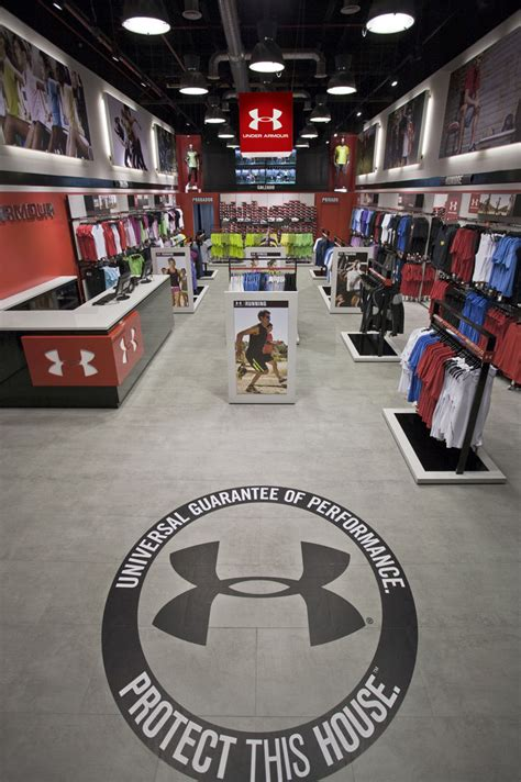 under armoir outlet storeage creates under armour s first european outlet