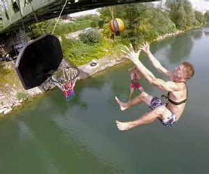 extreme rope swing awesome extreme