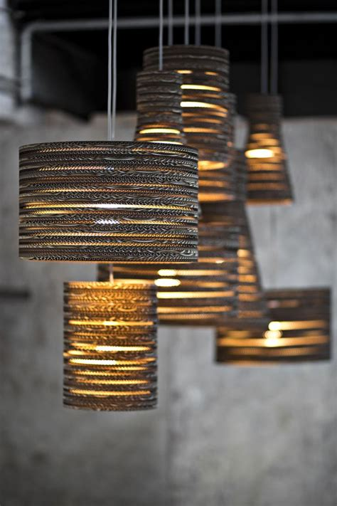Funky Chandeliers Design Ideas Bargh Lshades Made With Recycled Cardboard Recycle Pinterest L Shades