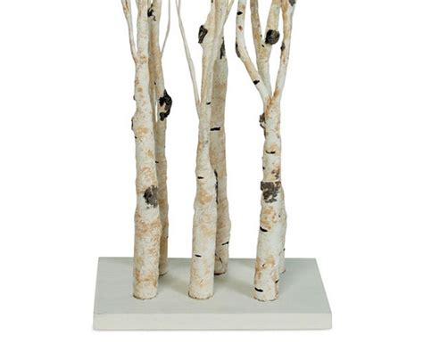 light up twig branches stand battery operated birch clump branch on stand 28 inch