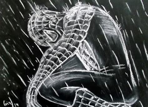 imagenes para dibujar en cartulina negra spiderman para mi hijo c 233 sar vivimos el arte en el