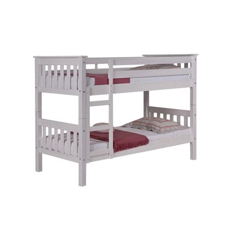 mattresses for bunk beds verona design 2ft6 shorty bunk beds in white beds direct