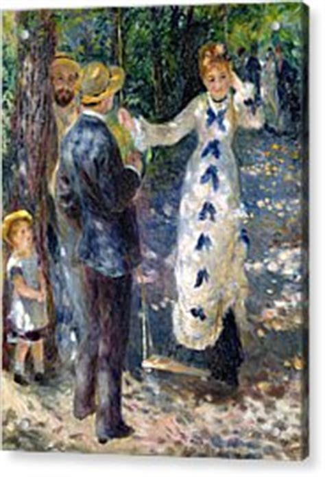 the swing renoir the swing painting by auguste renoir