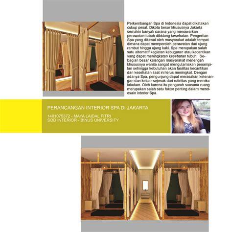 design interior binus perancangan interior spa di jakarta 1401075372 maya