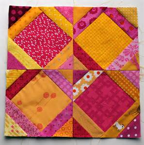 Hourglass Quilt Block january 2013 wombat quilts