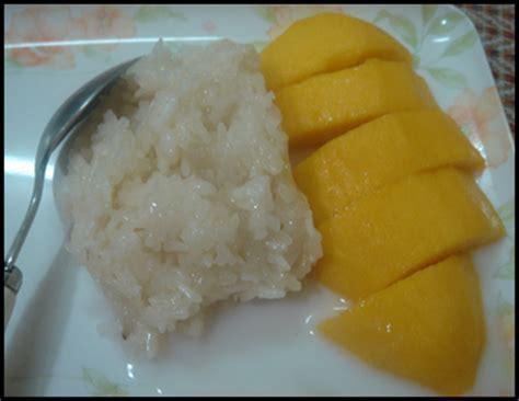 cara membuat manisan mangga thailand resepi pulut mangga thailand yang sedap simbolika