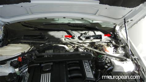 repair windshield wipe control 2008 bmw x6 windshield wipe control bmw e90 e91 e92 e93 valve cover gasket replacement diy n52n engine