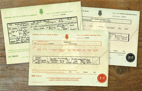Births Deaths And Marriages Uk Free Records How To Order An Or Birth Marriage Or Certificate Who Do You