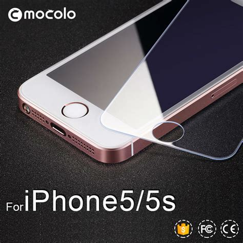 Tempered Glass Iphone 5 5s Non Packing 0 21mm tempered glass screen protector for iphone 5s anti