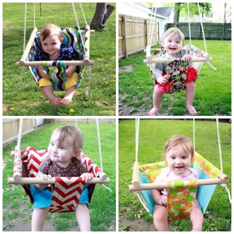 how to fix baby swing make hammock style canvas diy baby swing beesdiy com