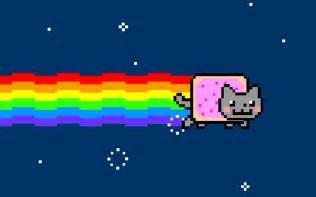 Nyan Cat Nyan Cat Pixel Mcedit Schematic Minecraft Project