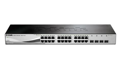 Dlink Dgs 1210 28 24port Gigabit Managed Switch Dgs1210 28 28 port gigabit web smart switch including 4 gigabit sfp ports