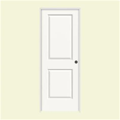 home depot 2 panel interior doors jeld wen 30 in x 80 in molded smooth 2 panel square brilliant white solid composite