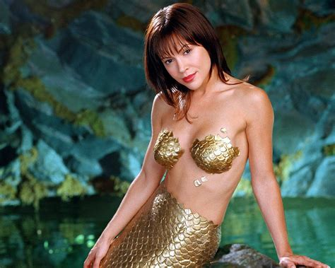 Alyssa Milano Charmed Phoebe Mermaid Dvdbash Dvdbash