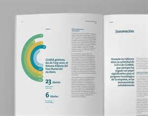 report layout design sles clabsa annual report graphic design for cv and portfolio