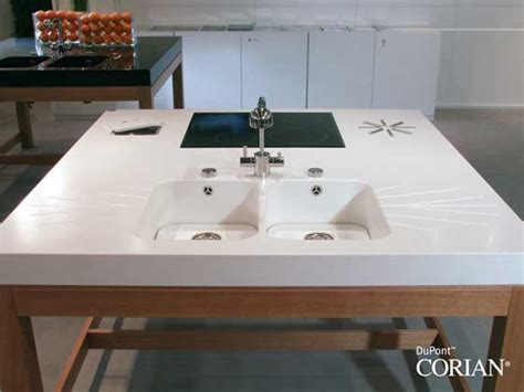 Corian Countertops Heat Resistant beautiful practical kitchen design dupont corian 174 s amazing heat resistance properties
