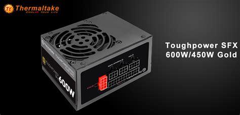 Thermaltake Toughpower Sfx Modular 450w 80gold Mini compact thermaltake toughpower sfx gold series power