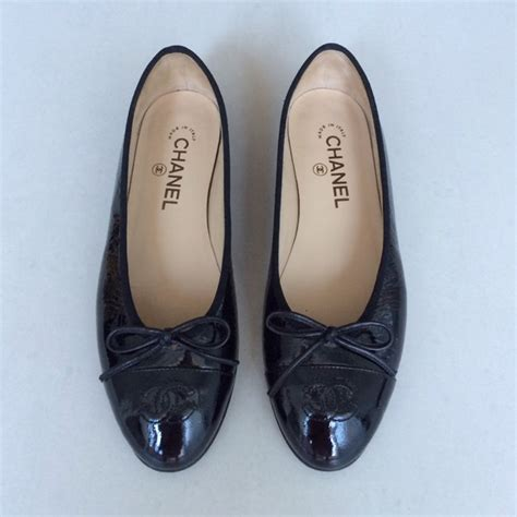 20 chanel shoes chanel black flats from dejovanca