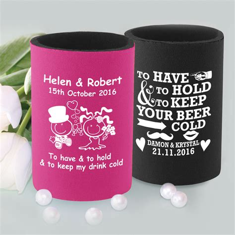 Wedding Stubby Holders by Kitchen Dining