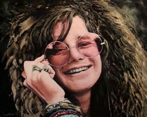 Janis Mercedes Janis Joplin Painting By Annableker On Deviantart
