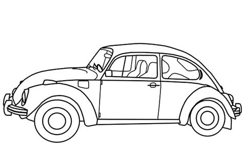 free coloring pages of herbie the