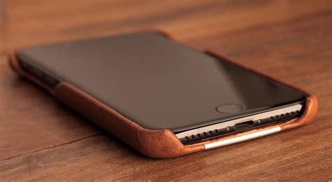 Casing Iphone 55s Luxury Leather grip leather for iphone 7 plus by vaja 187 gadget flow