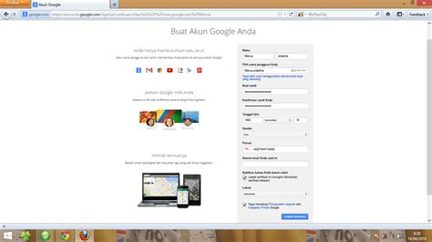 masalah saat membuat akun gmail anila purnama wati cara membuat akun gmail