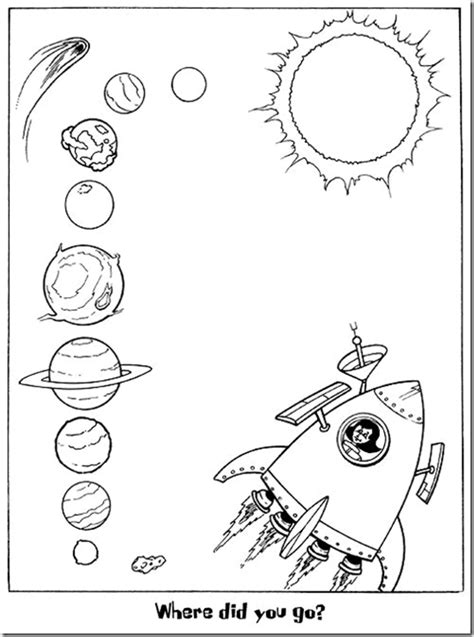 imagenes del universo para imprimir el sistema solar dibujos para colorear ciclo escolar