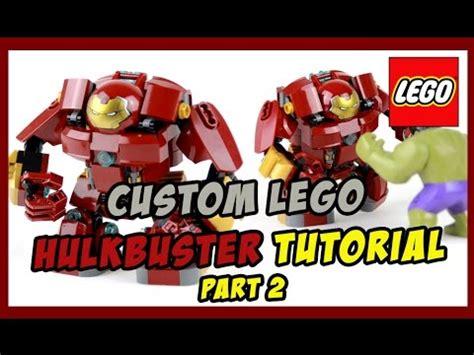 lego hulkbuster tutorial custom lego hulkbuster tutorial part 2 addendum youtube