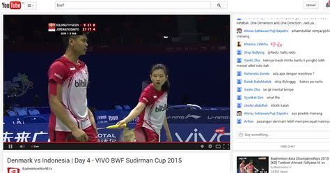 film jendral sudirman streaming watch live streaming semi final sudirman cup 2015 nonton