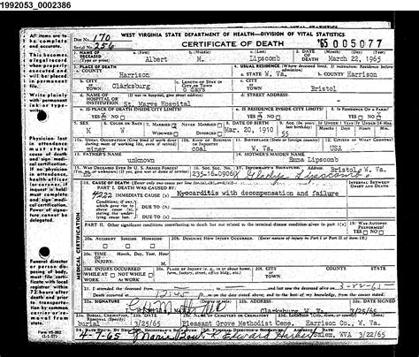 Wvculture Marriage Records Albert Mccllon Lipscomb Gladys Virginia Mcgarry