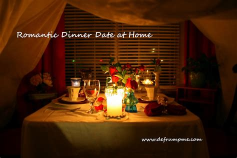 planning a romantic evening at home defrump me january 2012