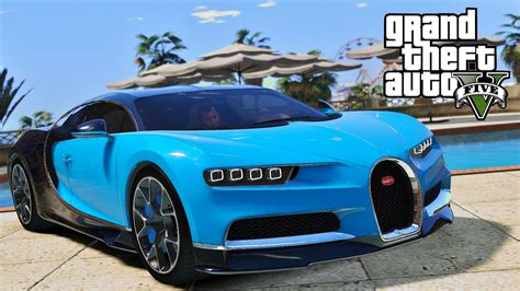 How Much Is The New Bugatti 2016 by Gta 5 New 2016 Bugatti Chiron Fastest Car