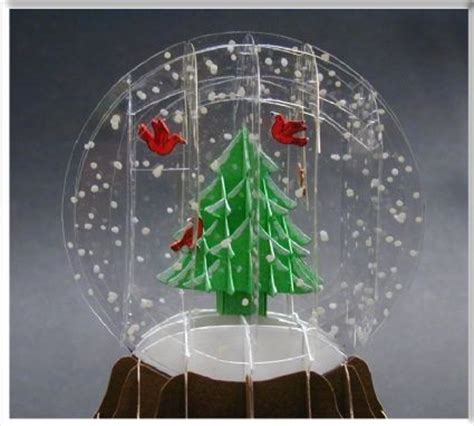 pop up snow globe card template 100 best sliceform ideas templates images