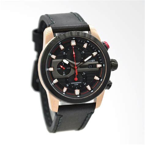 Balmer B 7881mb Hitam Jarum Merah jual balmer jam tangan pria leather hitam rosegold