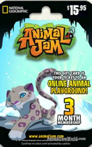 Animal Jam Membership Gift Card Codes - animal jam codes cheats hack blog 2015 news updates