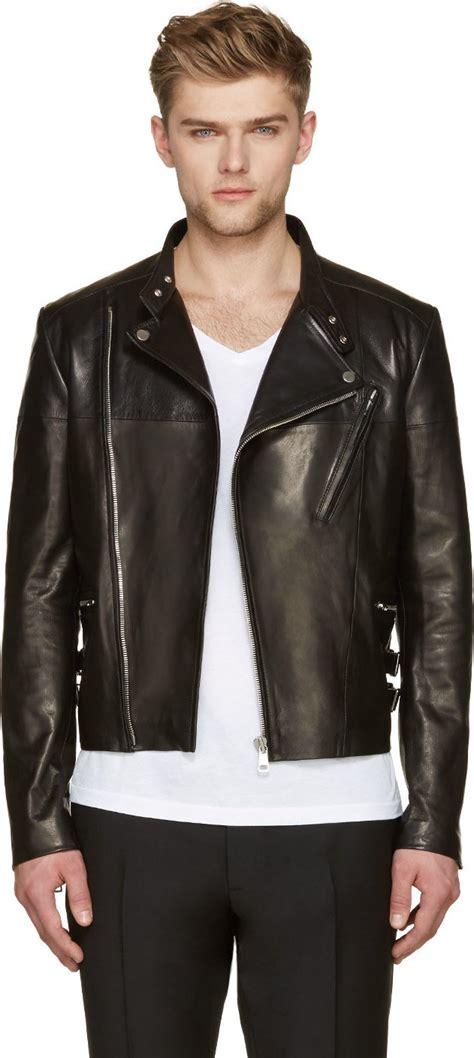 Edition Jaket Bikers Style s black leather biker jackets 2015 edition