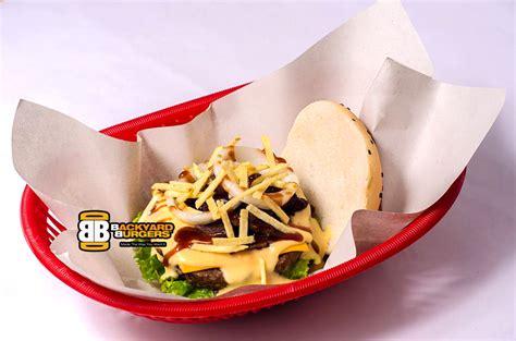 backyard burger davao hearty healthy davao burger anyone davao burgers at