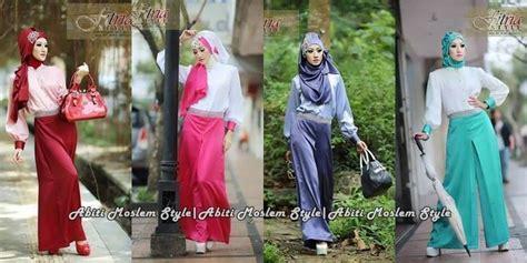 Set Kulot Zeeta Dusty 6 busana muslim koleksi terbaru