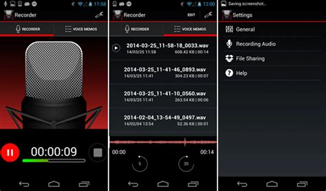 top 5 gravadores de voz para android