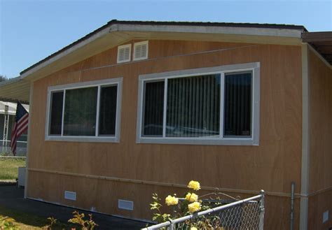 trailer house siding manufactured home wood siding mobile homes ideas